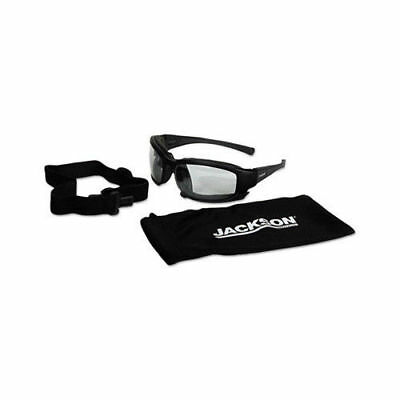 New Jackson Clear Safety Glasses, Anti-Fog, Scratch-Resistant, 25672 Calico V50