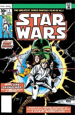 Complete Star Wars Marvel Comics Collection Ebook on DVD