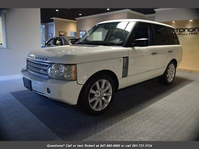 Range Rover Supercharged Supercharged 4dr SUV 2007 Land Rover Range Rover Supercharged Supercharged 4dr SUV Automatic 4-Door S