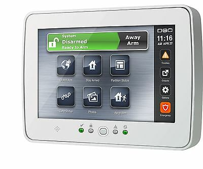DSC PTK5507 TOUCH SCREEN KEYPAD (White)  - WIRED  (BRAND NEW IN A BOX)