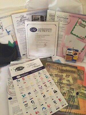 Large Lot Of The Creative Memories Collection Scrapbooking Crafting Many Items