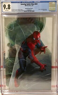 Amazing Spider-Man 800 Dell'Otto Virgin Variant CGC 9.8  In hand N@T 1 300