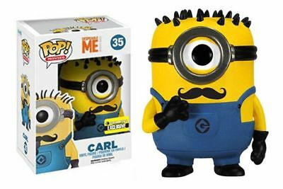 Funko Pop Movies: Despicable Me - Carl Mustache Exclusive Vinyl Figure