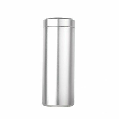Flyon Airtight Smell Proof Portable Aluminum Herb Storage Container (Silver)