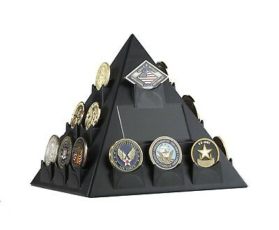 Military Challenge Coin Poker Casino Chip Display Holder Collectible Rack Stand
