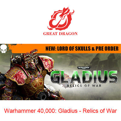 [Contact Before Purchase] Warhammer 40,000: Gladius - Relics of War [PC Global]