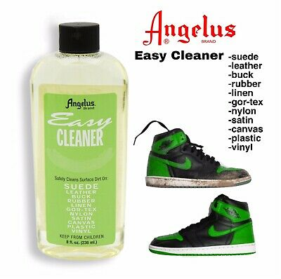 Angelus Easy Cleaner 236ml Cleans Suede, Leather, Rubber and More!