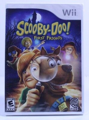 Scooby-Doo First Frights Nintendo Wii 2009 Factory Sealed New Complete Rated E