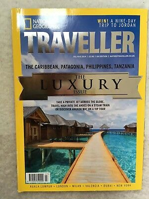 National Geographic Traveller Magazine The Luxury Issue Jul/Aug 2014