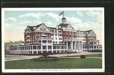 AK Spring Lake, NJ, New Hotel Essex and Sussex
