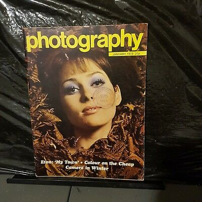 Vintage photography magazine January 1973 uk publication