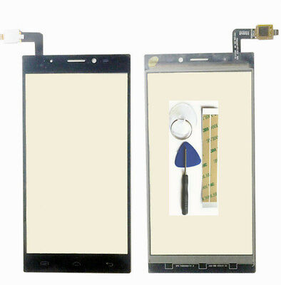 Touch Glass Digitizer Screen Glass Replacement For Doogee F5+ tools +3M tape