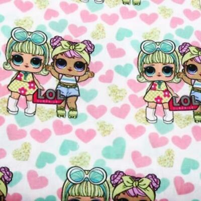 Fabric Lol Doll Dolls Surprise Toy Print Polycotton Blend 50X145Cm/20X58 In