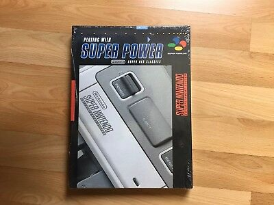 Playing with Super Power Nintendo SNES Classic Buch Collectors Edition GuideNEU
