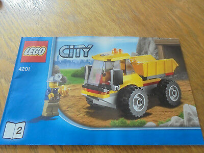 Lego City Instructions Only For 3221 Lego Truck 399