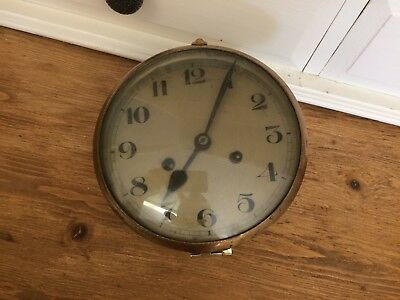 Vintage German Clock Movement / Face / Hands / Bezel / Glass