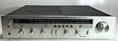 Vintage Pioneer Am/fm Synthesized Stereo Receiver Sx-600 | Needs Repair