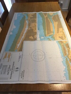 Vintage Admiralty Chart Shoreham Harbour and Approaches