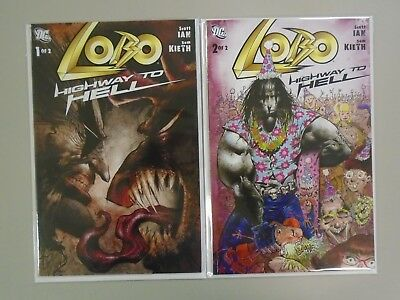 Lobo Highway to Hell (2009 DC) Set:#1+2, 8.0/VF (2009)