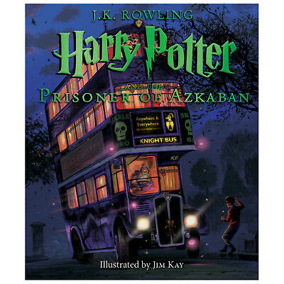 Harry Potter and the Prisoner of Azkaban: Illustrated Edition -J.K. Rowling Book