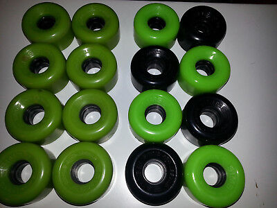 Sims street snakes x8 quad roller skating wheels/speed skate/derby/Bauer/Roces.