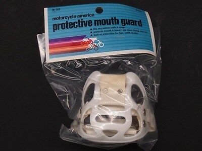 NOS Vintage Protective Mouth Guard Motorcycle Motocross AHRMA - Helmet Buco Bell