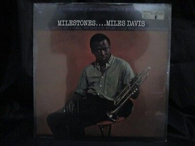 Miles Davis Milestones Columbia records KCS 9428 SEALED Vinyl LP John Coltrane