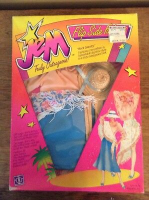 Vintage Hasbro Jem and the Holograms Flipside Fashion Rock Country Jerrica New