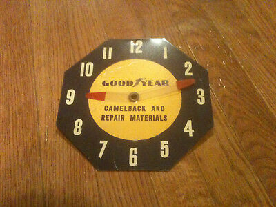 Vintage Goodyear Metal Clock Sign - Store Hours - Camelback and Repair Manuals