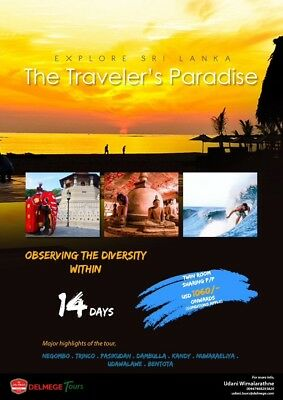 Holidays in Sri Lanka packages starting from above £500 per person
