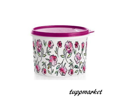 TUPPERWARE FLOWERS Storage Container Keeper 1.1L Special Offer