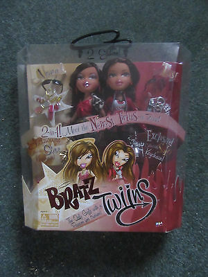 Bratz Boxed 2Nd Edition Twiins. Nona And Tess. Rare And Hard To Find Set. 2005.