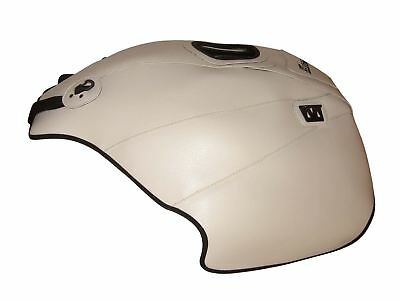 Moto Guzzi Norge 1200 =2014 Top Sellerie fuel Petrol Gas Tank Cover White Black