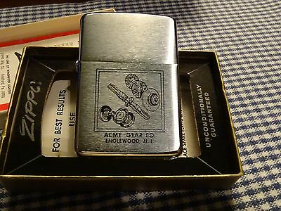 Zippo Acme Gear Co. Lighter 1967