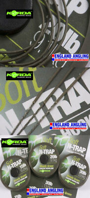 KORDA N-Trap Soft Coated Braided Hooklink 20m