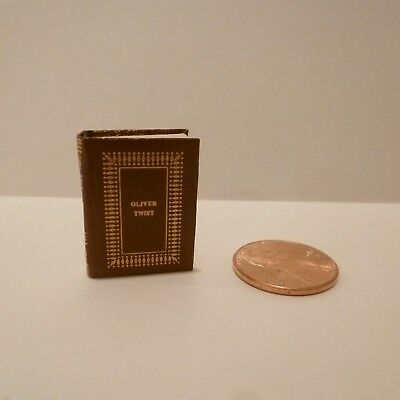 Barbara Raheb   Exquisite Miniature Book      Titled- Oliver Twist