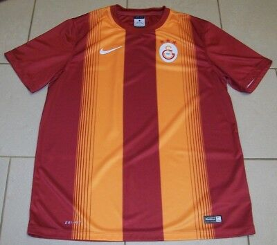 *** Galatasaray Turkey Football Shirt - Home Nike Dri Fit - Size Adult Large ***