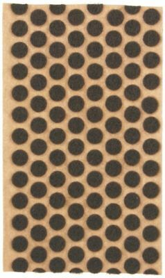 """120 3/8"""" Brown Felt Dots Surface Protector Pad Trophy Cabinet Furniture Crafts"""
