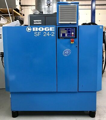 Boge SF24-2 Variable Speed Drive Rotary Screw Compressor, 30 - 108Cfm! Mint!