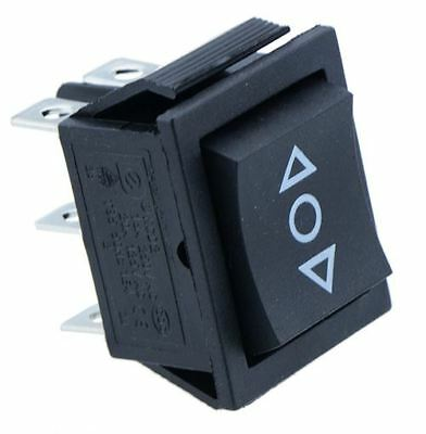On-Off-On Rectangle Rocker Switch DPDT