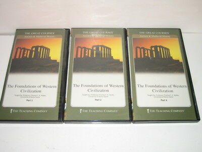 The Foundations of Western Civilization The Great Courses Parts1,2 & 4 MISSING 3