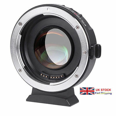 UK Seller Viltrox EF-M2 II Speedbooster 0.71x Adapter Canon EF to M43 MFT