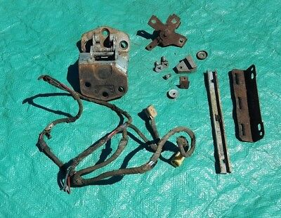 OEM 1959 1960 Cadillac Sedan Deville Left LH Rear Door Hardware Harness Lot