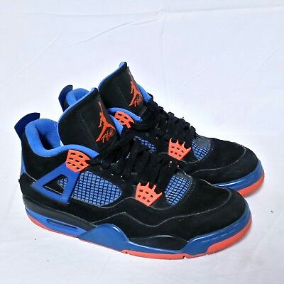 69901fe92c6a95 Nike Air Jordan Retro 4 iv Cavs Knicks Bred Toro Cement Oreo Laser Shoe  Mens 8.5