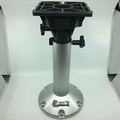 Boat Seat Pedestal Manually Adjustable 450-630mm Marine