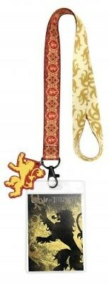 Game of Thrones House Lannister Lanyard