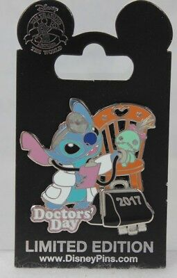 Disney Parks Doctors' Day 2017 Stitch and Scrump LE 120783