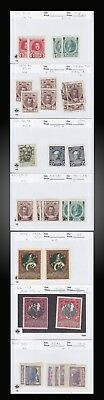 1913 1914 1916 1922 Russia Lot Mint And Used Postage And Semi Postal