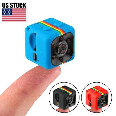 SQ11 Mini Camera HD Camcorder Night Vision 1080P Mini DV Voice Video Recorder US