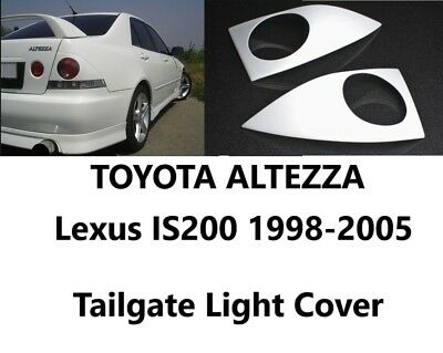Toyota Altezza Lexus IS 1998-2005 XE10 Tail Light Cover Rear Eyebrows 2 pcsD